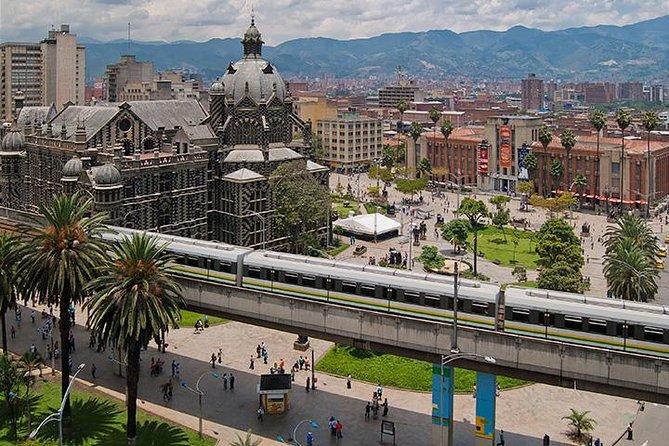 Transfer Arrival and Departure Medellin