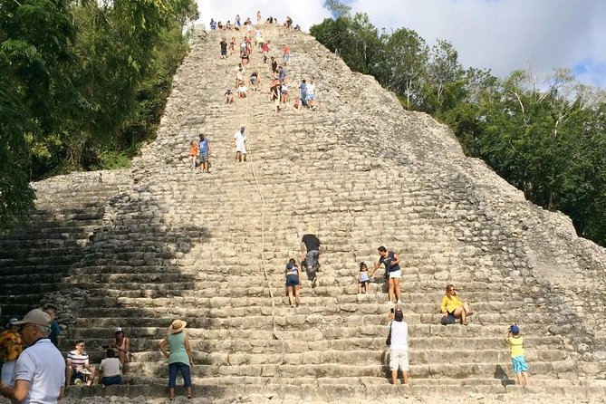 4 in 1 Day Tour Tulum Coba Cenote and Playa del Carmen