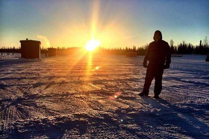 4 horas de pesca en hielo