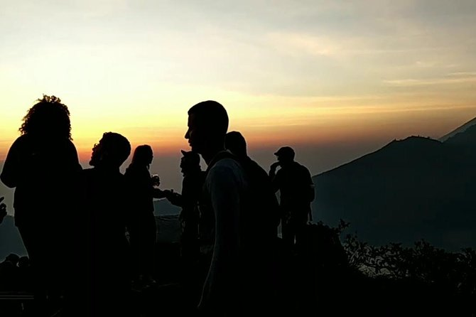 Mount Batur Volcano Sunrise Trekking with Hot Spring and Rice Terrace Stop