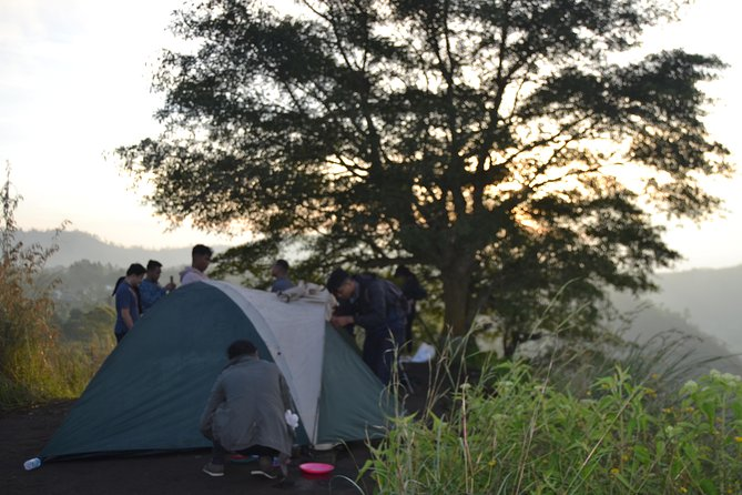 Bali Private Driver: Bali Camping Caldera Batur all included