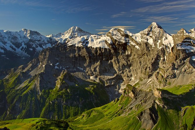 Independent Bernese Oberland and Jungfrau Region Day Trip from Zurich
