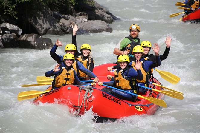 Rafting in Interlaken from Lucerne