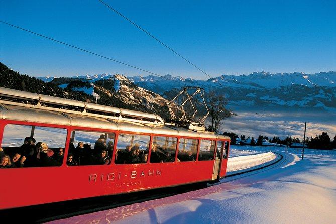 Mount Rigi Winter Day Trip from Zurich