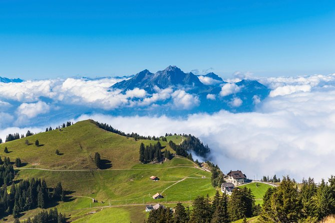 2-Day Alps Tour from Zurich: Mt Pilatus and Mt Titlis