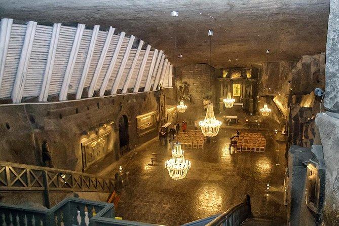 Wieliczka Salt Mine Half-Day Tour from Kraków