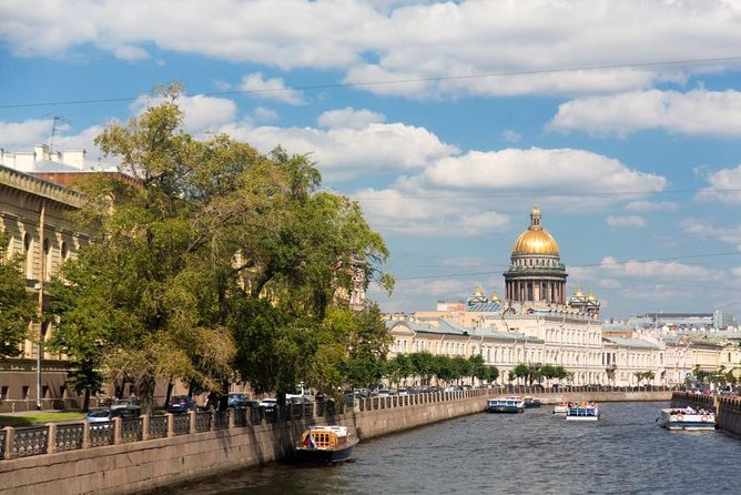 St Petersburg Neva River Sightseeing Cruise