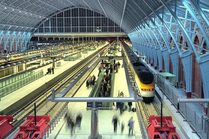 Private London Arrival Transfer - St. Pancras Eurostar Station to Accommodation