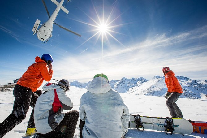 Full-Day Alpine Heliski Adventure