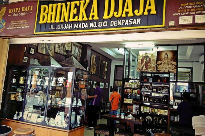Private Tour: Full-Day Souvenir of Denpasar Tour