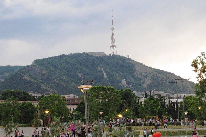 Dinner in Funicular Restaurant Complex at Mtatsminda Park from Tbilisi