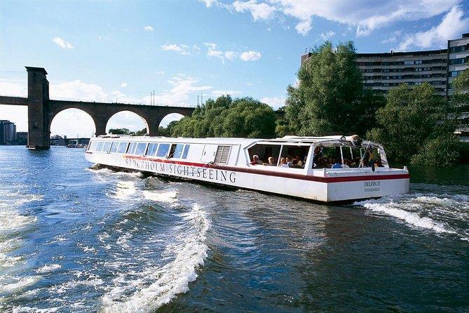 Stockholm Bridges Cruise