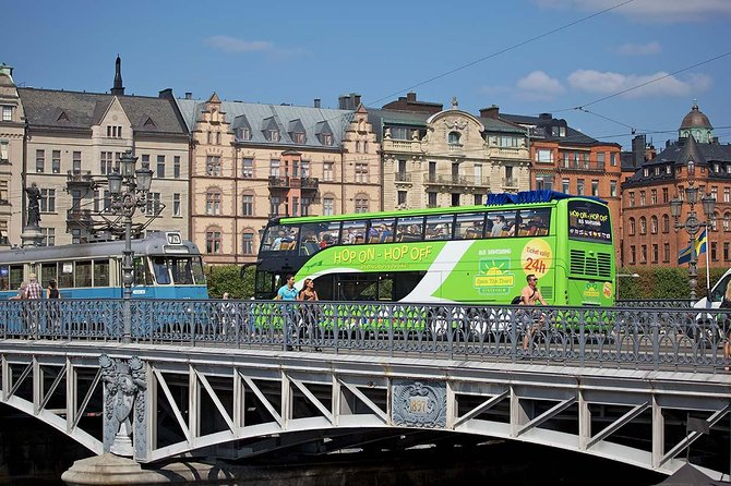 Stockholm Shore Excursion: Stockholm City Hop-On Hop-Off Tour by Bus photo 1
