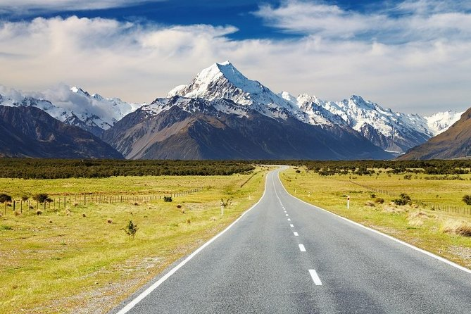 Mount Cook to Christchurch One-Way Sightseeing Tour