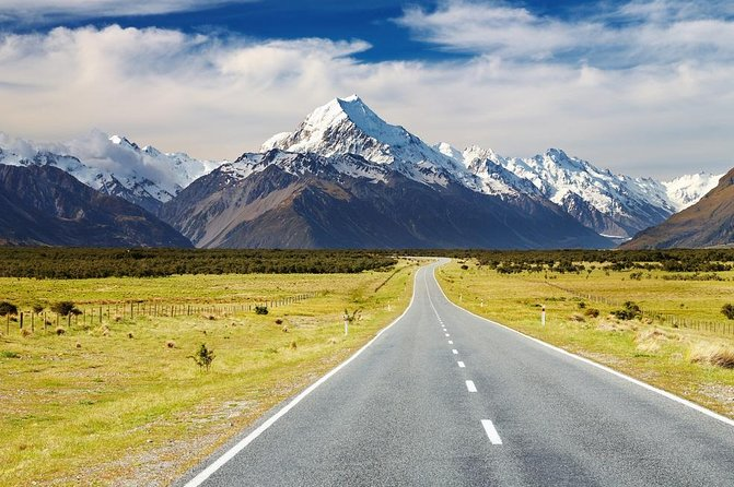 Queenstown to Mount Cook Sightseeing Tour