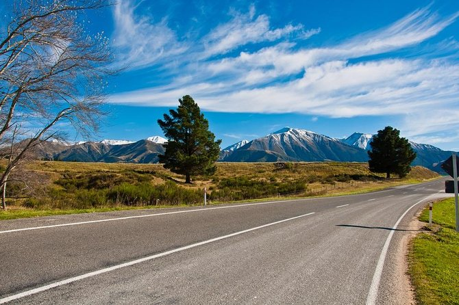 Queenstown to Christchurch via Mount Cook Full-Day Tour Image