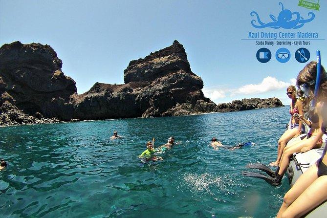 Mergulho com Snorkel em Ponta de São Lourenço - Baia D'Abra