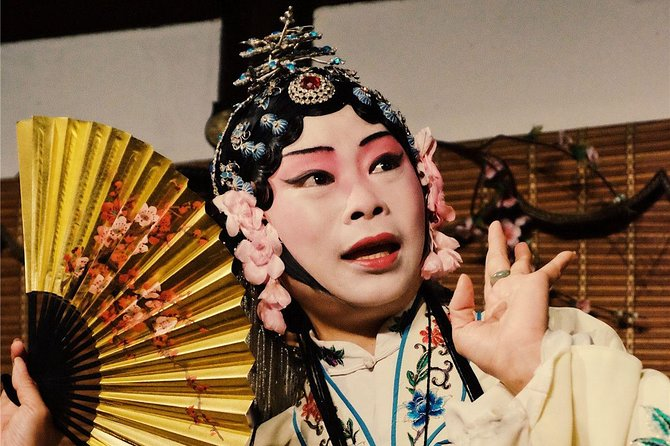 Chinese Kun Opera Museum Visit and Opera Performance in a tea house