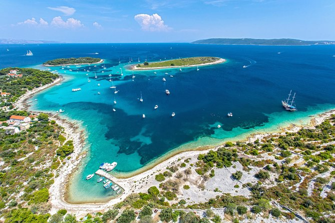 Two Islands Blue Lagoon Half-Day Boat Tour from Split