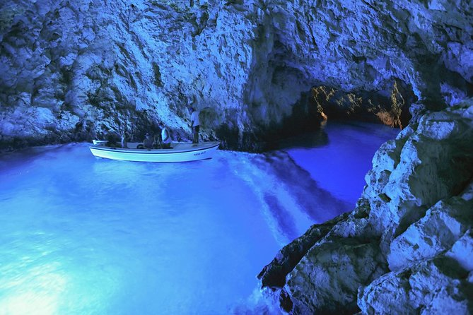 Blue Cave our Way - private 6 island tour