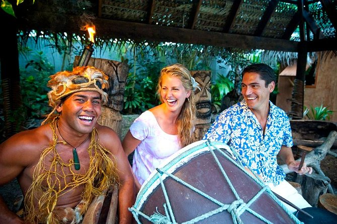 Cook Islands Cultural Village Tour at Muri Beach