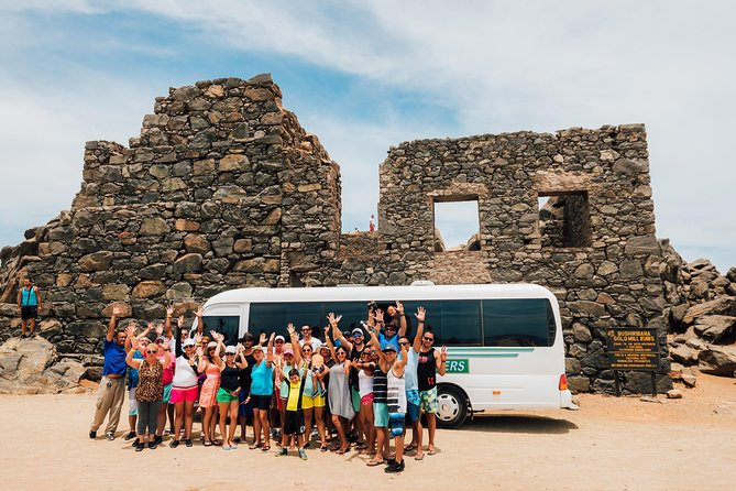 Aruba Countryside Tour by Bus with Natural Bridge, Lighthouse