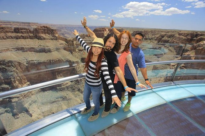 Grand Canyon West Rim og Hoover Dam – tur fra Las Vegas med Skywalk som tilvalg