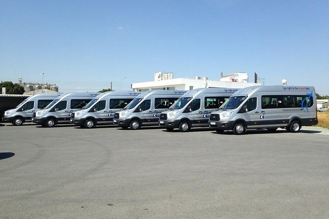 Shared shuttle transfer from Hotels to Larnaca Airport