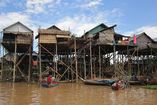 Floating Villages, Tonle Sap Lake and Mangrove Forest from Siem Reap