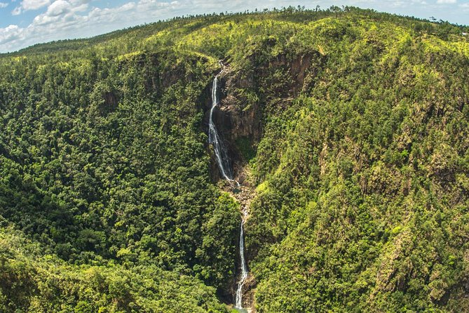 Waterfalls and 1000 Foot Falls by Helicopter