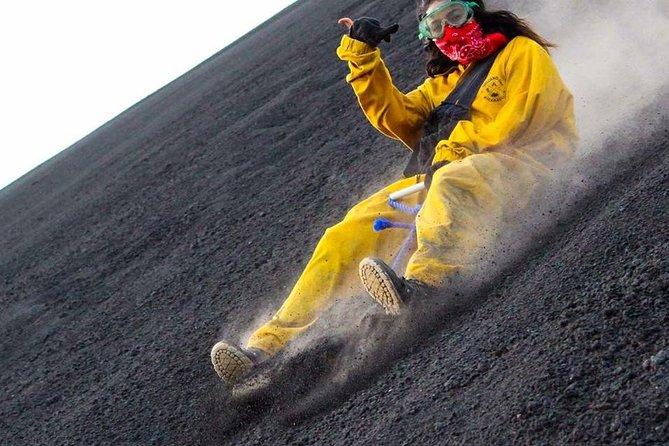 Volcano boarding at Cerro Negro and Las Peñitas Beach Tour