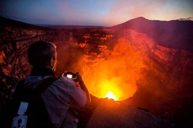 Volcano Masaya by Night