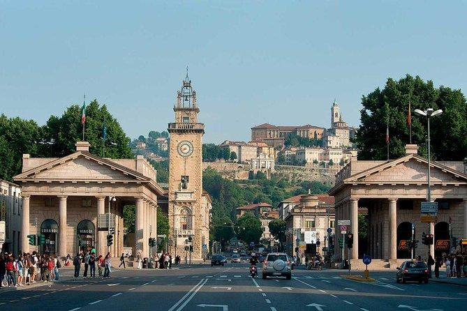 Bergamo de benedenstad: privéwandeltocht met gids