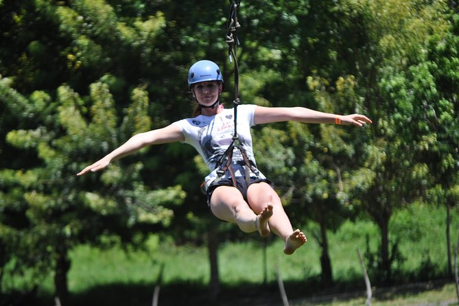 Zipline, Optional Monkeys/Sloths/Macaws Visit & West Bay Beach Resort: Roatan,HN