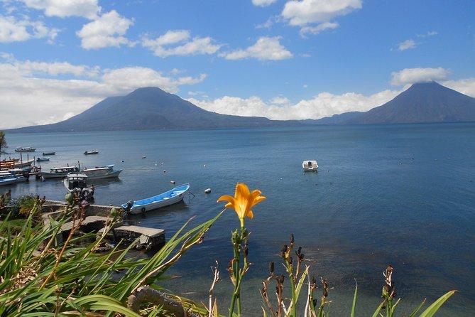 Excursión en barco y pueblos del lago de Atitlán: excursión privada de un día desde Antigua