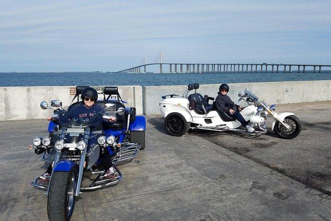 Motorcycle Tour of Sunshine Skyway Bridge