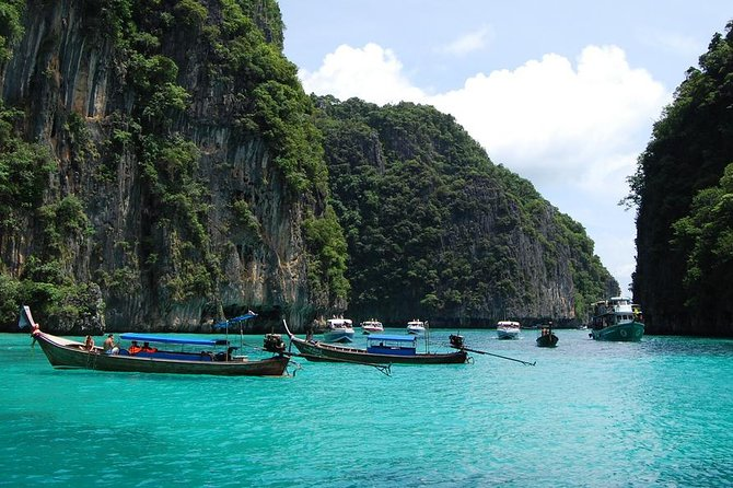 Phi Phi Maya Khai snorkeling trip Premium Service By Speed Boat
