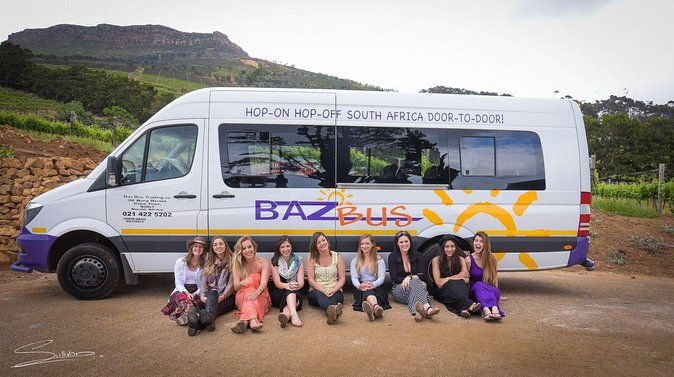 One-Way Hop-on Hop-off Bus from Cape Town to Durban
