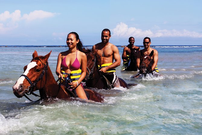 Chukka's Best of the West Island Experience (zip, tube & horse ride/swim)