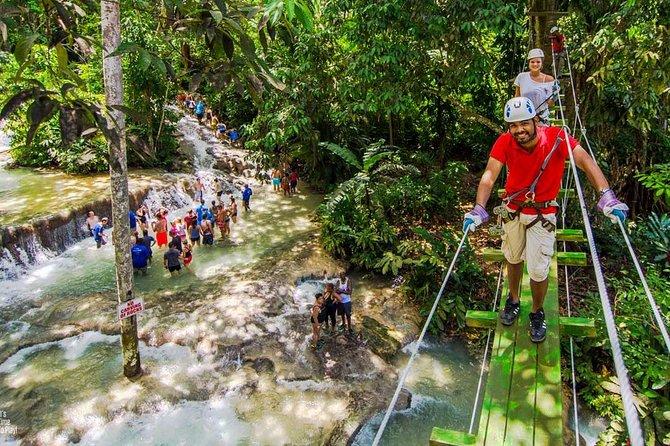 Chukka's Dunn's River Climb & Zipline Over The Falls from Montego Bay