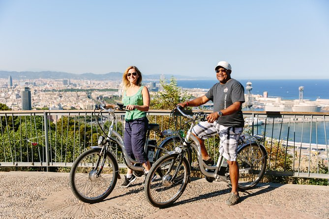 Barcelona Electric Bike Tour with Panoramic City Views