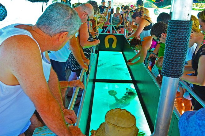 Rarotonga Glass Bottom Lagoon Cruise