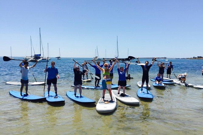 Barwon Heads Einführendes Stand Up Paddleboarding Lektion