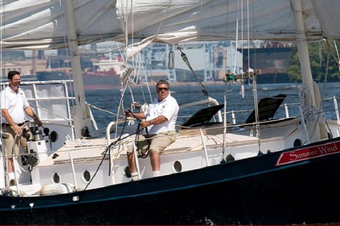 Enjoy a Private Charter on an authentic schooner