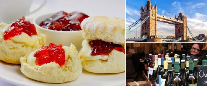 Traditional English Food Tasting Walking Tour in London
