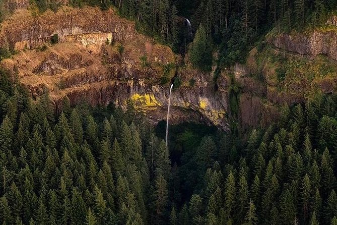 Exclusive 1 Hour 20 Minute Private Gorge & Portland Air Tour for 3