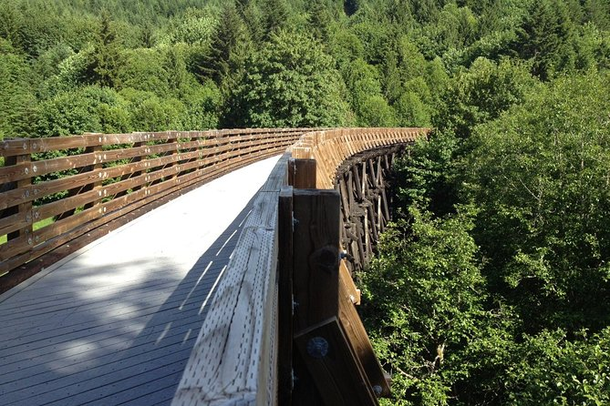 Railroad trestle on Banks Vernonia Trail