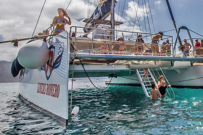 Papagayo Beaches Catamaran Cruise with Lunch without pick up service