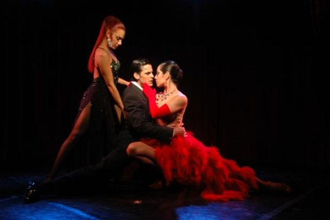 Rojo Tango Show with Optional Dinner in Buenos Aires