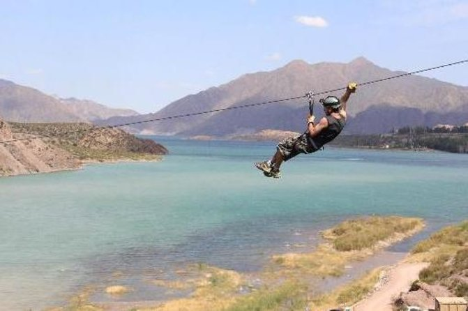 Zipline Adventure from Mendoza in Potrerillos Valley
